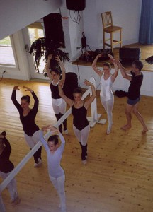 Workshop with 'Ballet Bob'